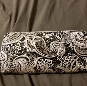 Black and Silver Clutch